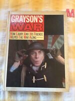 1983 LARRY GRAYSON / GRAYSON'S WAR , RARE SIGNED FIRST EDITION
