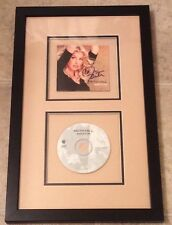 Faith Hill autographed framed Breathe CD and cover