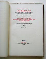 Orchidcaeae: Illustrations and Studies in the Family Orchidaceae, fascicle 7