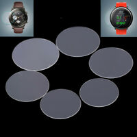 1pc tempered glass screen protector for 30/31/34/35/36/38mm round watch faceQ9Q