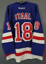 MEN'S Reebok EDGE New York Rangers Marc Staal Home Jersey NHL HOCKEY Size 2XL 56