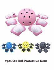 7PCS/Set Kid Protective Gear Child Elbow Knee Pads Wrist Guards Gear Multi Sport