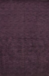 Contemporary Purple Modern Gabbeh Oriental Area Rug Hand-knotted Wool Carpet 6x9