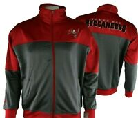 Tampa Bay Buccaneers NFL Majestic Big and Tall Full Zip Track Jacket MT-4XL