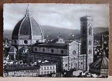 Firenze - la Cattedrale - cupola del Brunelleschi [grande, b/n, viaggiata]