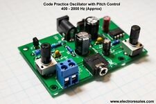 HAM MORSE CODE/TELEGRAPH CW  PRACTICE OSCILLATOR - WITH PITCH CONTROL
