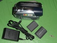 Canon ZR900 ZR900A Digital Mini DV Camcorder - Record Plays Transfer Tape MiniDV