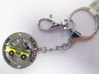New York Schlüsselanhänger Taxi Cab Metall Souvenir keychain (19870)