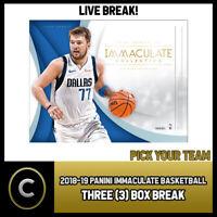 2018-19 PANINI COURT KINGS BASKETBALL 8 BOX 1//2 CASE BREAK #B133 PICK YOUR TEAM