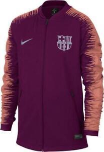 Kids Nike FC Barcelona Anthem Jacket Deep Maroon 894412 669