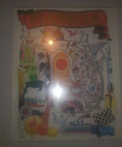 Rare Vintage 1994 Florida Jigsaw Puzzle George Gorycki Great American puzzle NEW