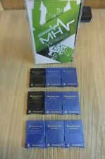 LOT CARTE MEMOIRE - MEMORY CARD - PS2 -