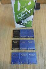 LOT CARTE MEMOIRE - MEMORY CARD - PS2 -