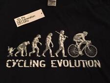 BNWT Nuovo Bici Ciclismo EVOLUTION CROSS COUNTRY ROAD Uomo T-Shirt Blu Navy Medio