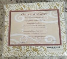 New listing Cherry Hill Collection Oversized King/Cal King Duvet Cover Style #1030 - 5 Piece