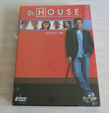 COFFRET 6 DVD PAL DR HOUSE INTEGRALE SAISON 3 NEUF SOUS CELLO ZONE 2