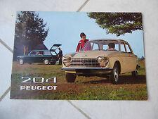 Peugeot 204 berlina 1970 - catálogo ventas folleto folleto prospekt