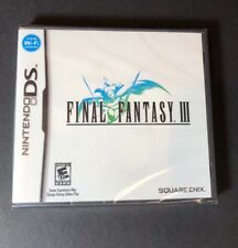 Final Fantasy III (DS) NEW