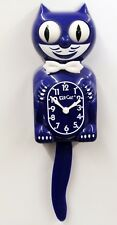 KIT CAT CLOCK - NEW COLOR- ULTRA VIOLET , MADE IN THE USA BC-45 FREE BATTERIES