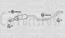 Scatola centrale scarico VAUXHALL COMBO 1.4 BENZINA/METANO VAN 10/1997 a 12/2001