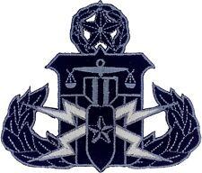 Law Enforcement EOD/HDT Master Patch (Black)