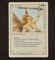 MTG Revised Serra Angel ~ Uncommon ~ EX LP 1994 Magic The Gathering