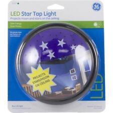 GE LED Star Tap Light Nightlight Night Bedroom Kids Blue Stars Moon 21760