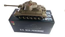 New 1:16 2.4G Remote Control Snow Leopard Airsoft Tank Smoking BB RC Tank