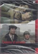 Dvd **DELITTO D'AMORE** con Giuliano Gemma Stefania sandrelli nuovo 1974