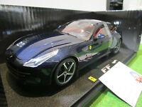 FERRARI FF bleu nuit au 1/18 HOT WHEELS ELITE W1118 voiture miniature collection