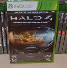 Xbox 360 HALO 4 Game Of The Year Edition GOY NEW Sealed REGION FREE USA