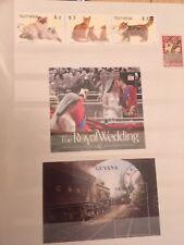 Briefmarken Guyana aus Sammlungsauflösung