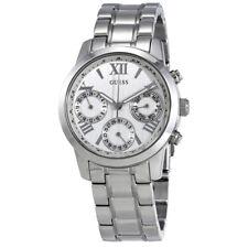 Guess Mini Sunrise Silver Dial Ladies Watch W0448L1
