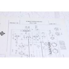 Original Telefunken Ela V305 10W VollVerstarker Schematics