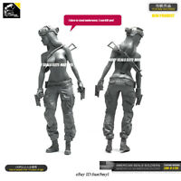 1/35 US Sexy Soldier Resin Kits Unpainted GK Unassembled YUFAN MODEL