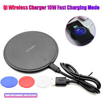 Qi Wireless Charger for Samsung S9 S10 iPhone X XS Max XR LG G6 Huawei P30 Pro