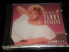 THE BEST OF TAMMY WYNETTE - Album CD - 1996 - 18 excellents TITRES