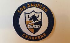 "Los Angeles  Chargers Embroidered Iron on Patch 3"" x 3"" NFL Nice Great Quality"