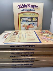 Teddy Ruxpin Adventure Series Book/Tape Sets Lot Of 9
