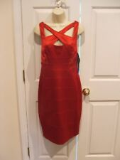NWT  $ 160 MELROSE RED FULLY LINED  SATIN HOLIDAY COCKTAIL PARTY DRESS SIZE 10