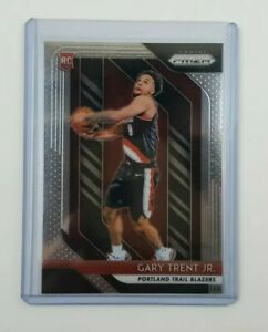 Gary Trent Jr 2018-19 Panini NBA Prizm Base Rookie Card