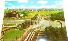 Tira De La Muerte Puerta De Brandenburgo Muro Berlín Tarjeta Postal Años 50 60s