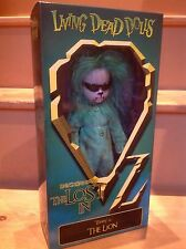 Living Dead Dolls The Wizard Of Oz THE LION (Variant Version) Mezco *Brand New*