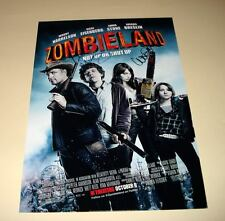 """ZOMBIELAND CAST PP SIGNED PHOTO POSTER 12""""X8"""" A4 WOODY HARRELSON BILL MURRAY"""