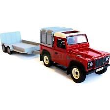 BRITAINS 2836a2 grande ferme Land Rover Defender et remorque à usage général fixer de nouvelles