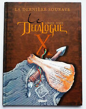 "BD LE DECALOGUE ""LA DERNIERE SOURATE"" / 2003 / EO / GLENAT"