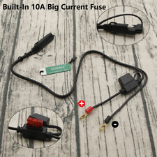 Motorcycle Battery Terminal Connectors Harness 12V Charger Adapter Cable Plug AU