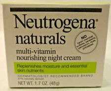 Neutrogena Naturals Multi Vitamin Nourishing Night Cream Won't Clog Pores New