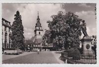 AK Erbach, Odenw, Rathaus u. Kirche, Busse 1960