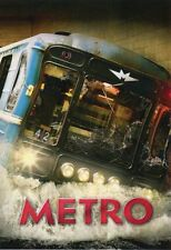 METRO / МЕТРО RUSSIAN DRAMA THRILLER ENGLISH SUBTITLES BRAND NEW DVD NTSC